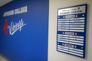 wayfinding signage and wall graphics